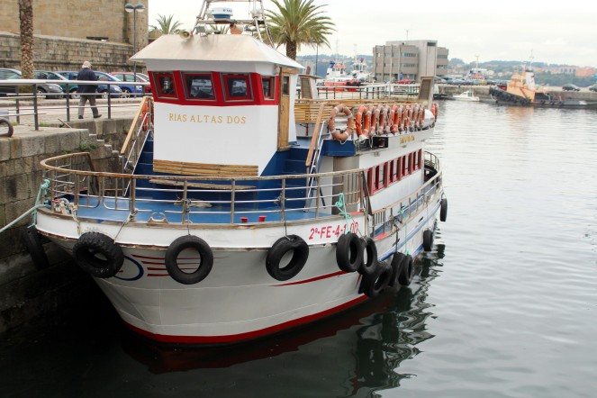 Ferrol port; Ferrol, Galicia, Spain.