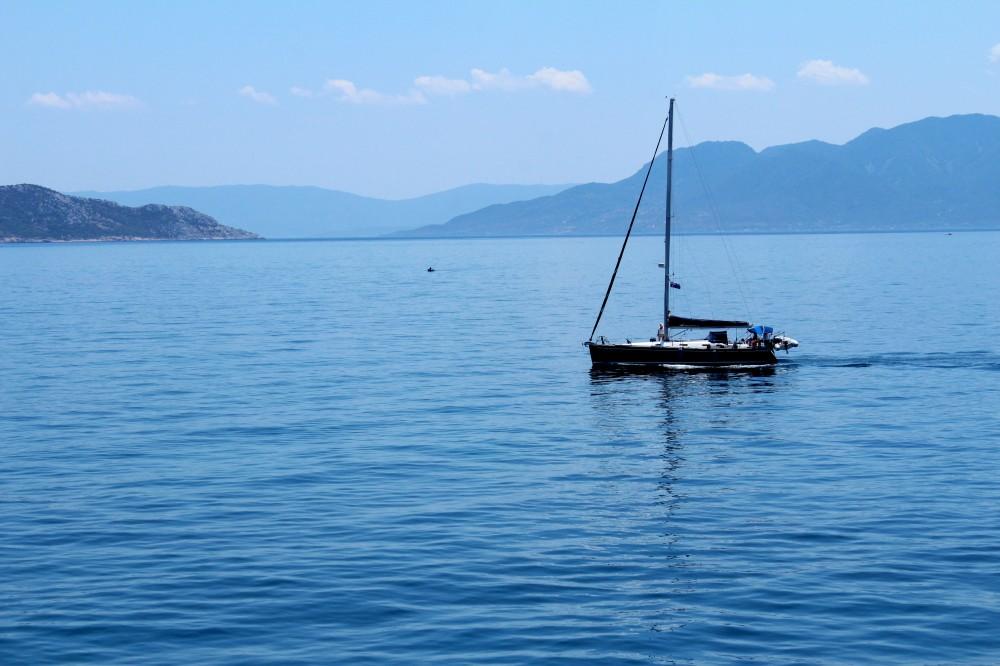 Aegean Sea; Aegea, Greece.