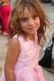 Gypsy (Roma) girl; Lushjne, Albania.