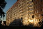 Housing  flats; Novosibirsk, Siberia, Russia.