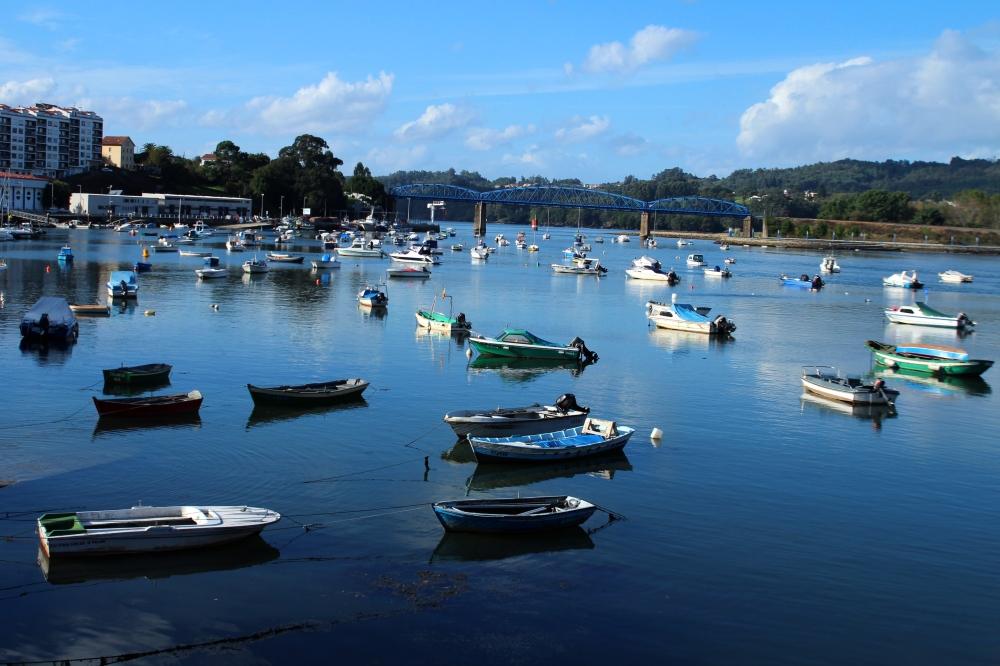 Fishing boats; Galicia, Spain.
