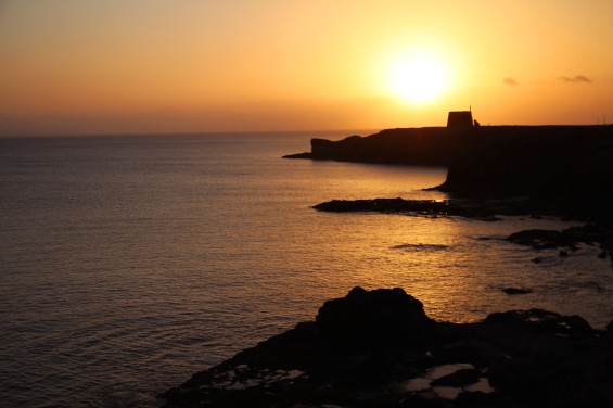 Sunset; Lanzarote, Canary Islands.