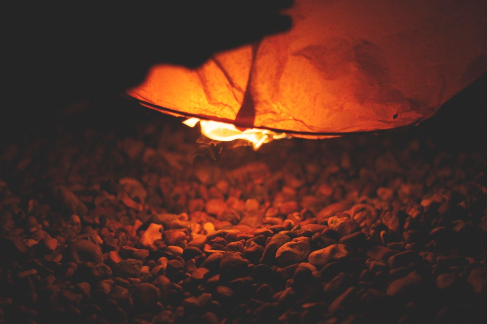 Avoiding Creative Burn-out -- Burning Leaf
