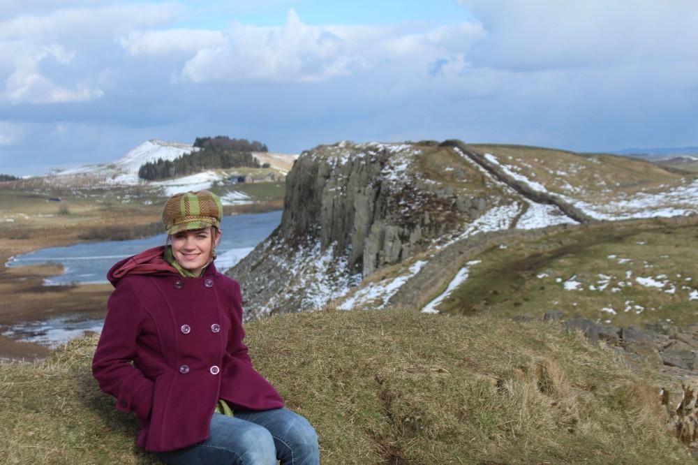 Hadrian's wall - Katie