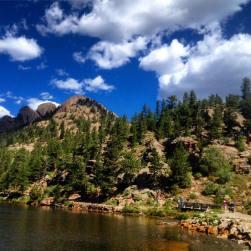 Lily Lake scenery